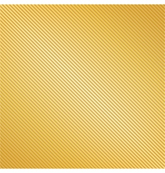 Golden Striped Background vector image vector image
