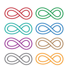 Limitless symbol icon vector