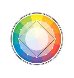 Polychrome multicolor spectral versicolor circle vector