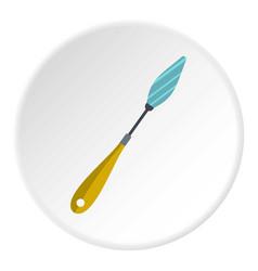 Scraper icon circle vector