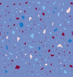Terrazzo seamless pattern pastel classic flooring vector