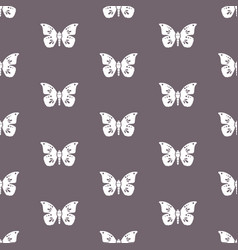 white butterflies butterflies and purple vector image