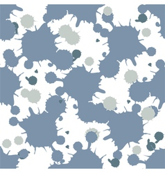 abstract blobs seamless pattern vector image vector image