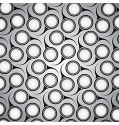 Circular retro pattern vector image vector image