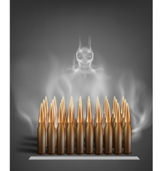 Army ammunition vector image