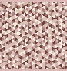 abstract seamless triangle pattern beige vector image