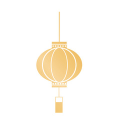 decorative lantern japanese hanging image vector image