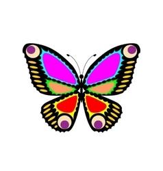 Easily editable butterfly vector