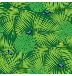 Rain forest pattern vector