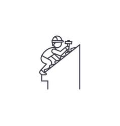 Rorepair line icon sign vector