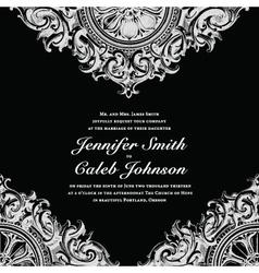 Wedding invite cards vector