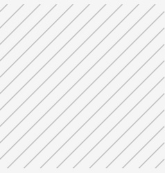 White abstract seamless background 3d diagonal vector