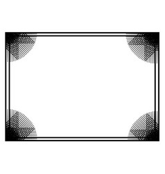 border frame background vector image