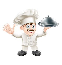 French chef vector
