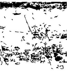 Grunge gray urban texture template vector