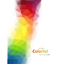 Modern colorful background vector
