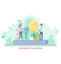 Modern technology business innovation vector