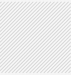 White seamless 3d diagonal stripe background vector