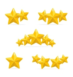rating hotels stars concept on black vector image