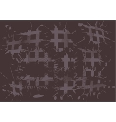 duoton background blot squares vector image