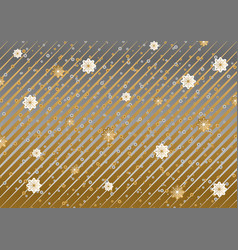 abstract grey brown christmas background vector image