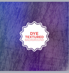 Elegant grunge background with cool blue dyed vector