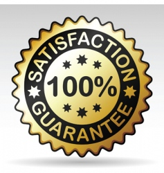 guarantee label vector image vector image