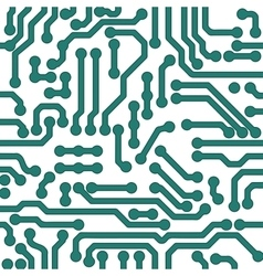 High tech background processor chip vector