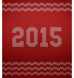 Knitted texture 2015 vector