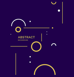modern abstract background with geometric shapes vector image