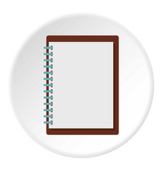 sketchbook icon circle vector image