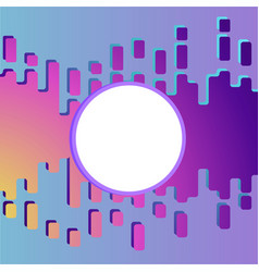 Slime abstract purple and pink liquid background vector