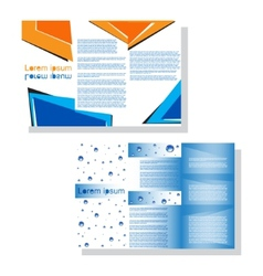 Brochure3 vector image