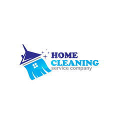 Cleaning logo tonkq vector
