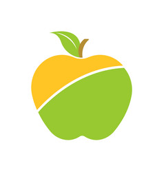 Colorful logotype apple vector