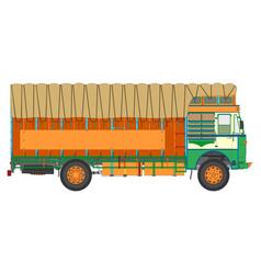 Jingle truck vector