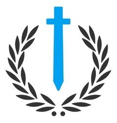 Sword Honor Embleme Icon vector