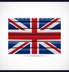 Britain siding produce company icon vector image vector image