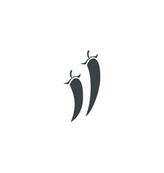 chilli icon simple vector image