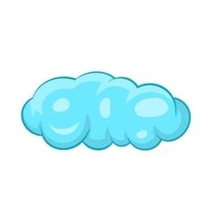 Cloud icon in cartoon style vector image vector image