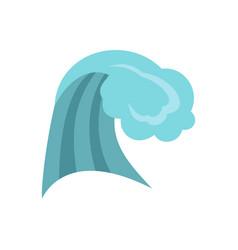 ocean wave icon cartoon style vector image