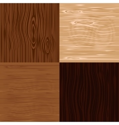 Wooden texture seamless backgrounds vector image