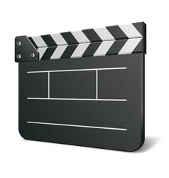 film clap board vector image