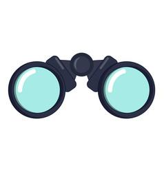 binoculars icon cartoon style vector image