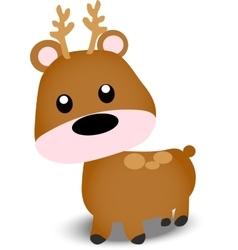 A Cute deer vector