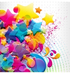 abstract mixed background vector image