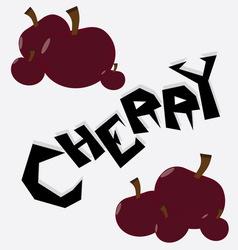 Cherry Wallpaper vector