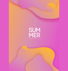 Gentle color banner for different style design vector