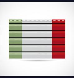 Italy siding produce company icon vector