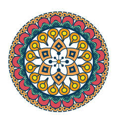 Mandala vintage decorative elements vector